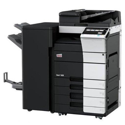 מכונת צילום לייזר משולבת צבעונית מסוג דבלופ Develop Ineo+458 השכרת מכונות צילום