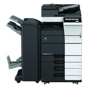 מכונת צילום צבעונית מסוג קוניקה מינולטה Konica Minolta bizhub C458 השכרת מכונות צילום