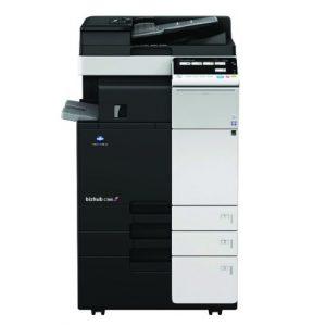 מכונת צילום צבעונית מסוג קוניקה מינולטה Konica Minolta bizhub C368 השכרת מכונות צילום