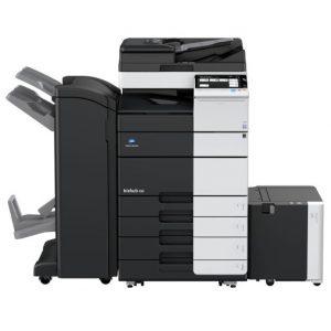 מכונת צילום משולבת מסוג קוניקה מינולטה Konica Minolta Bizhub 458 השכרת מכונות צילום