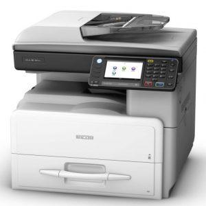 מדפסת לייזר משולבת מסוג ריקו Ricoh MP 301SPF השכרת מדפסות השכרת מכונות צילום